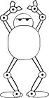 Ausmalbild Malvorlage Roboter