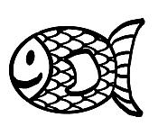 Ausmalbild Malvorlage Goldfisch