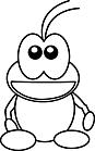 Ausmalbild Malvorlage Ameise