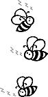 Ausmalbild Malvorlage Bienen