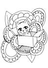 Ausmalbild Malvorlage Kätzchen