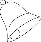 Ausmalbild Malvorlage Glocke