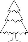 Ausmalbild Malvorlage Tannenbaum