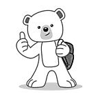 Ausmalbild Malvorlage Eisbär
