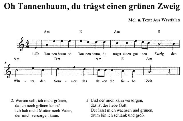 Noten Oh Tannenbaum.Oh Tannenbaum Du Trägst Einen Grünen Zweig Text Noten Download