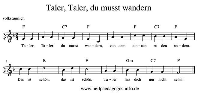 Ringlein Ringlein Du Musst Wandern Text