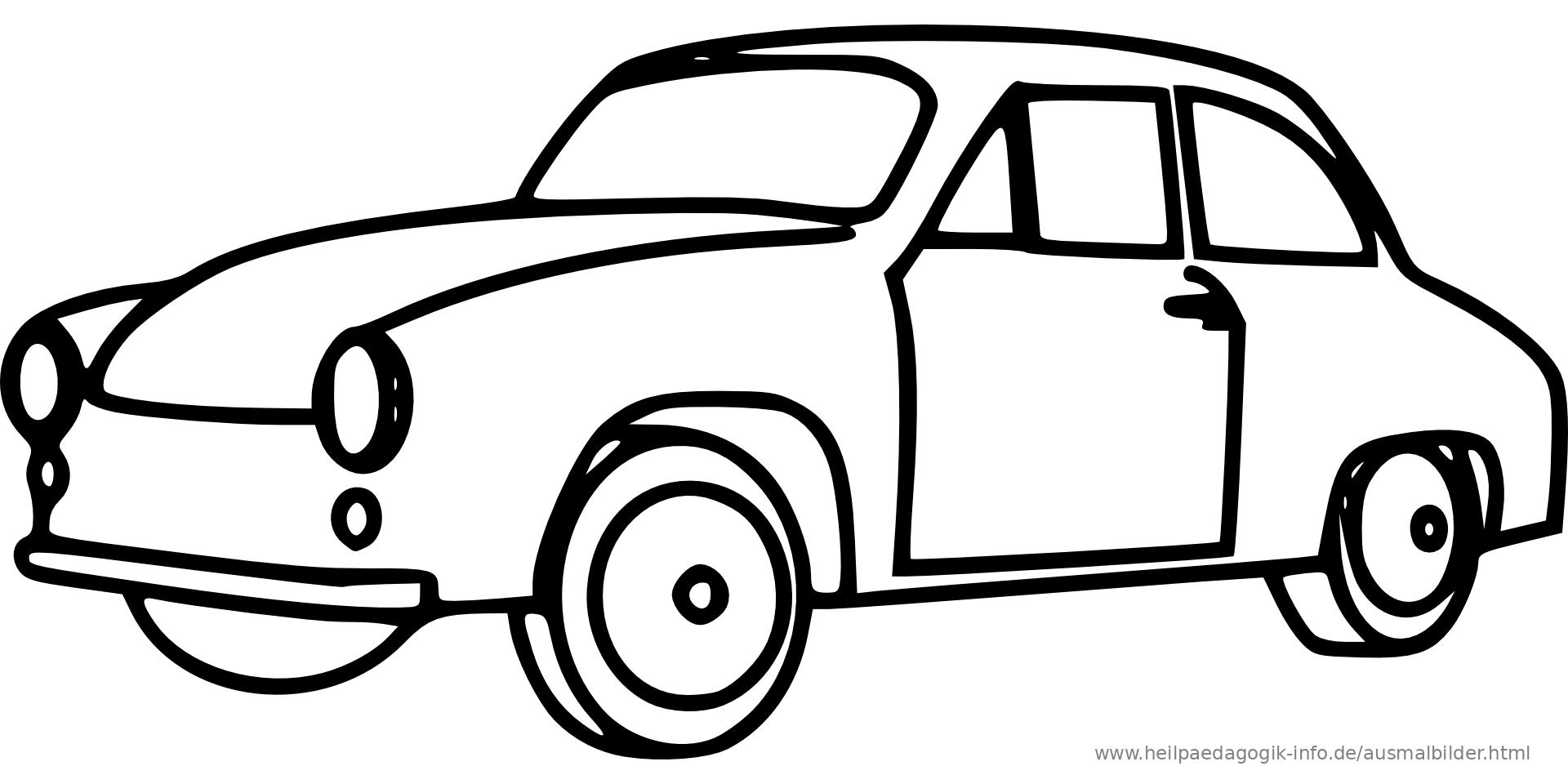 ausmalbilder autos kostenlos  ausmalbilder coloring pages