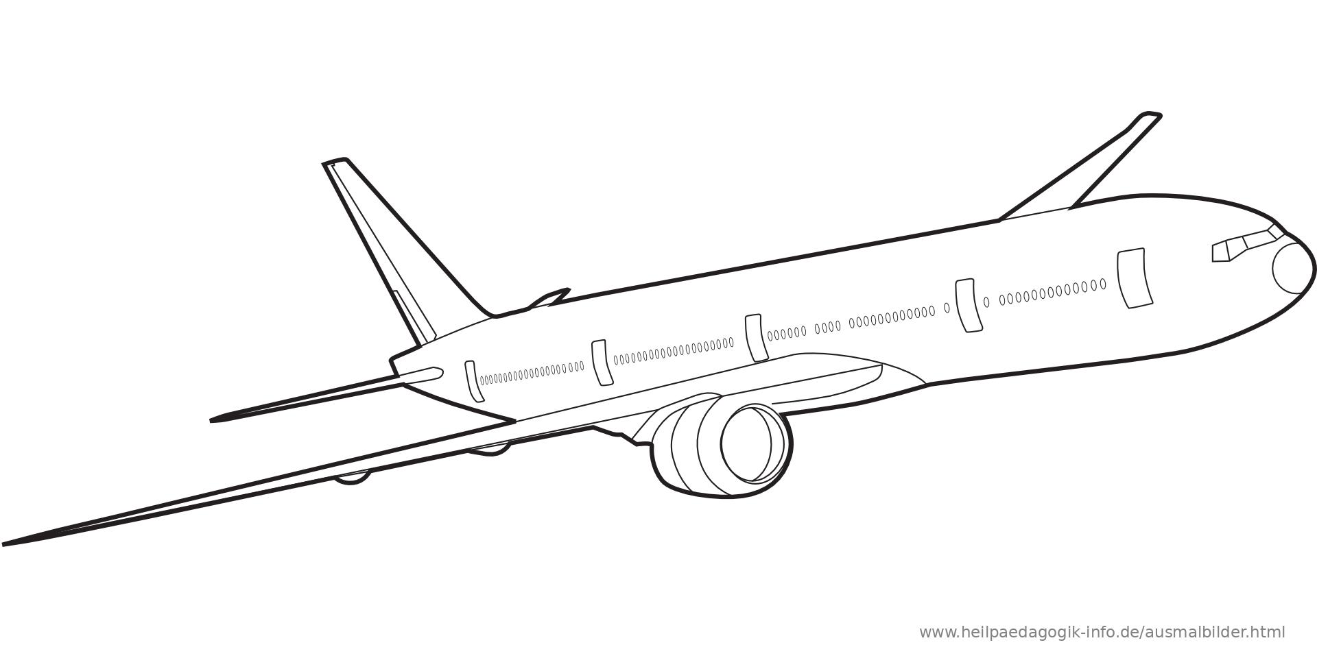 Erfreut Druckbare Flugzeug Malvorlagen Galerie - Entry Level Resume ...