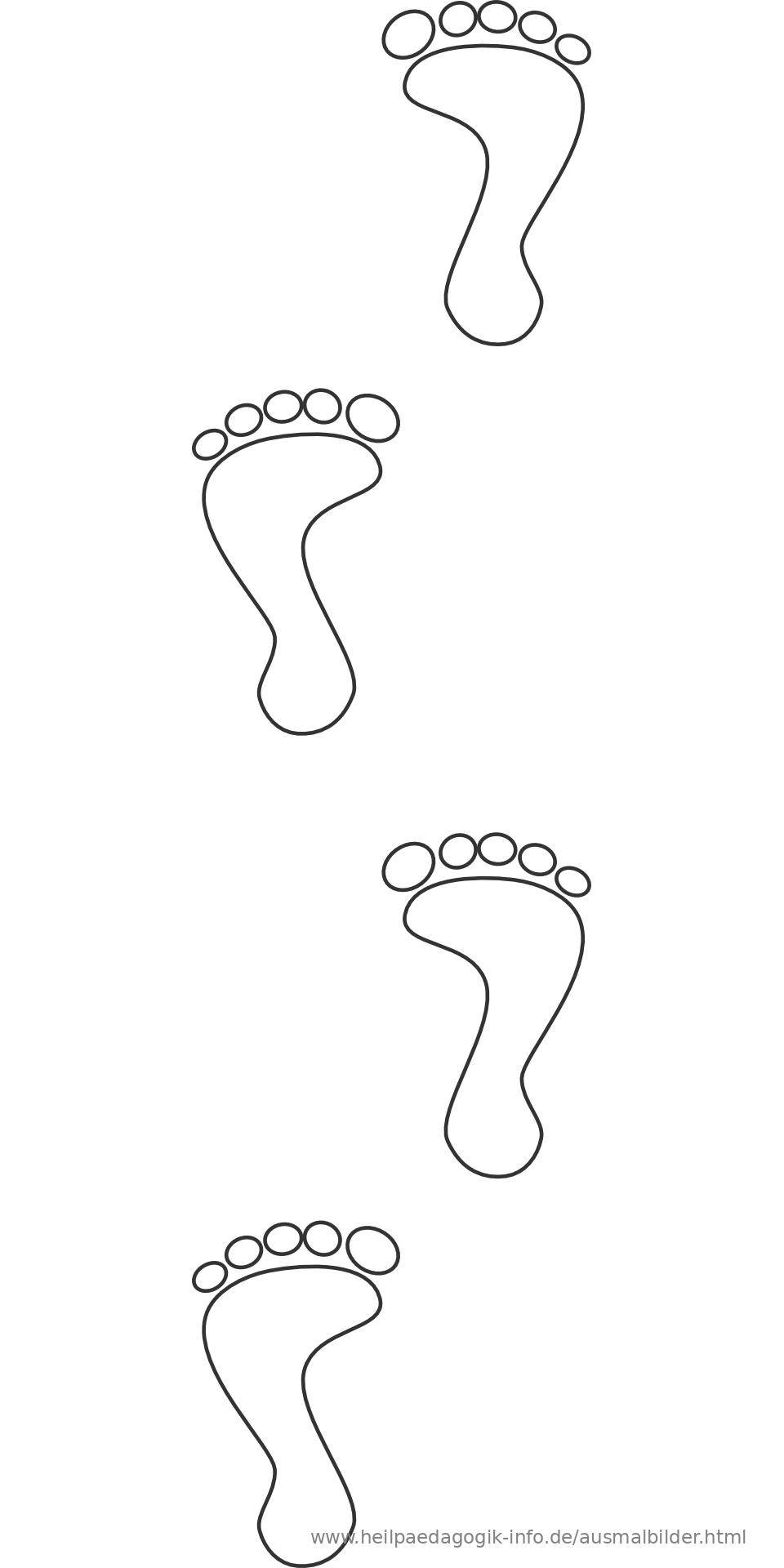 Berühmt Fuß Malvorlagen Bilder - Malvorlagen Von Tieren - ngadi.info