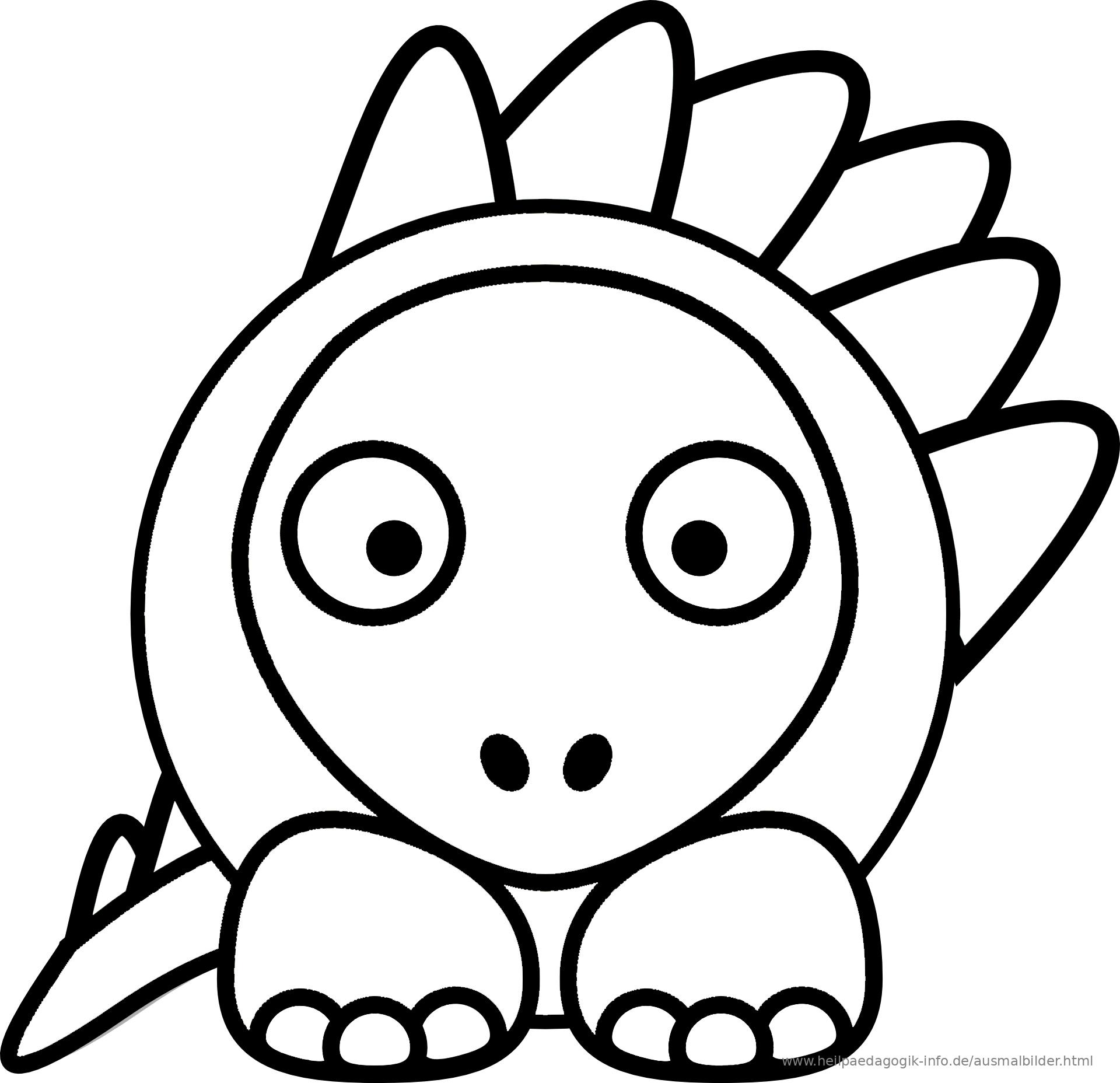 Ausmalbilder Drachen und Dinosaurier