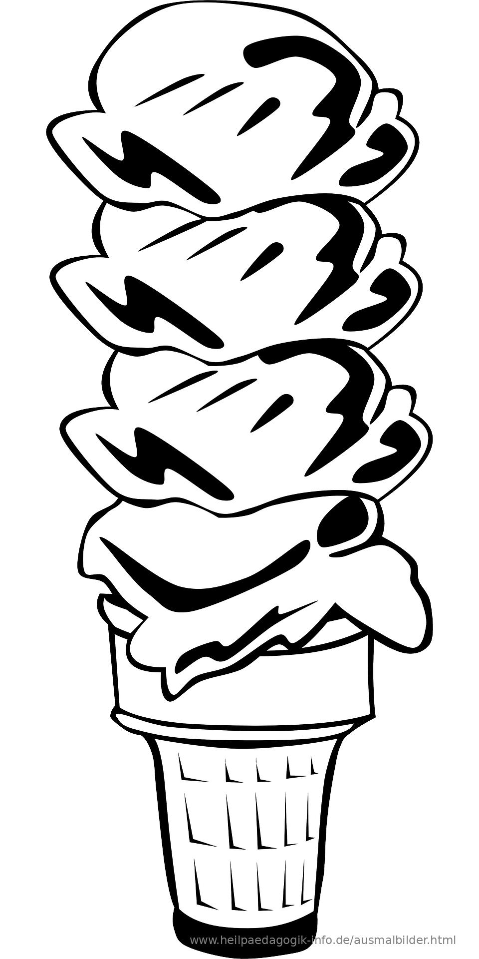 Eis Ausmalbild | heimhifi.com