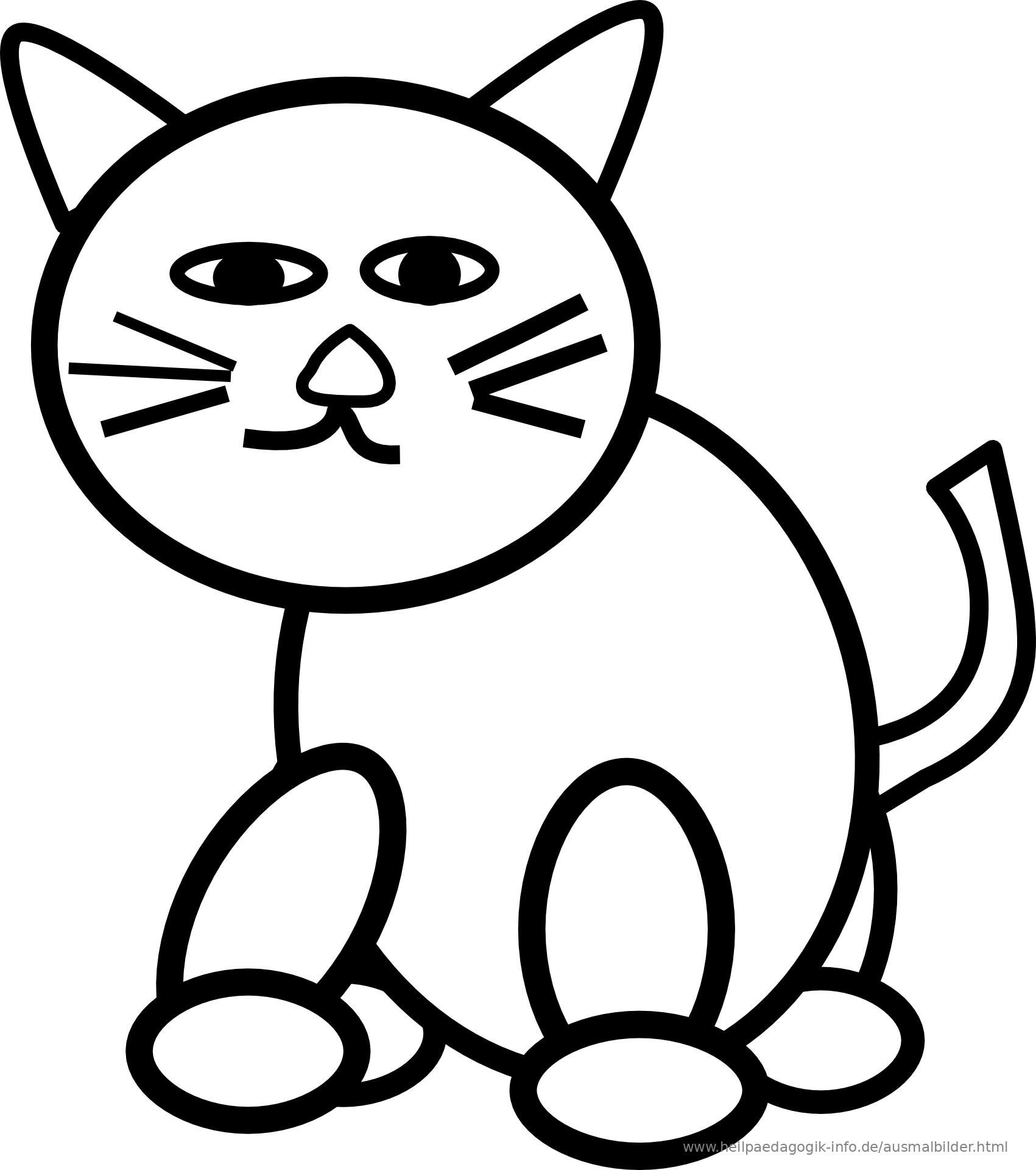 Schön Süße Katze Malvorlagen Galerie - Entry Level Resume Vorlagen ...