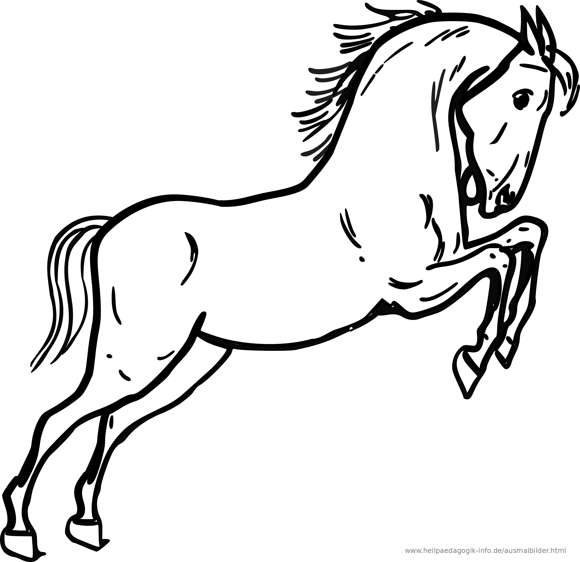 Ausmalbilder pferde ausmalbild pferd als pdf oder png anzeigen altavistaventures Image collections