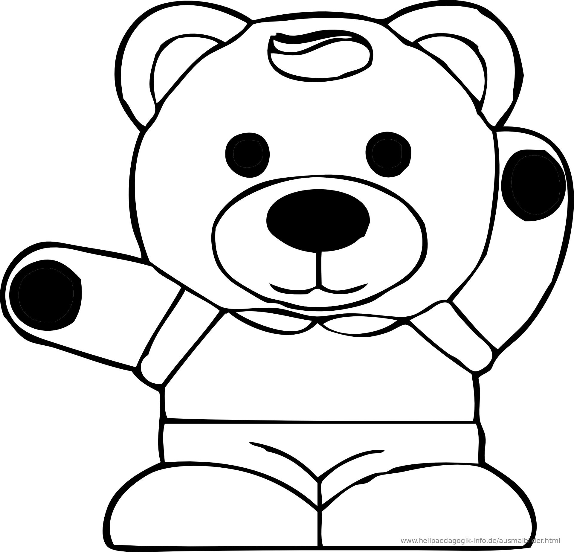 Fein Süße Teddybär Malvorlagen Galerie - Beispielzusammenfassung ...