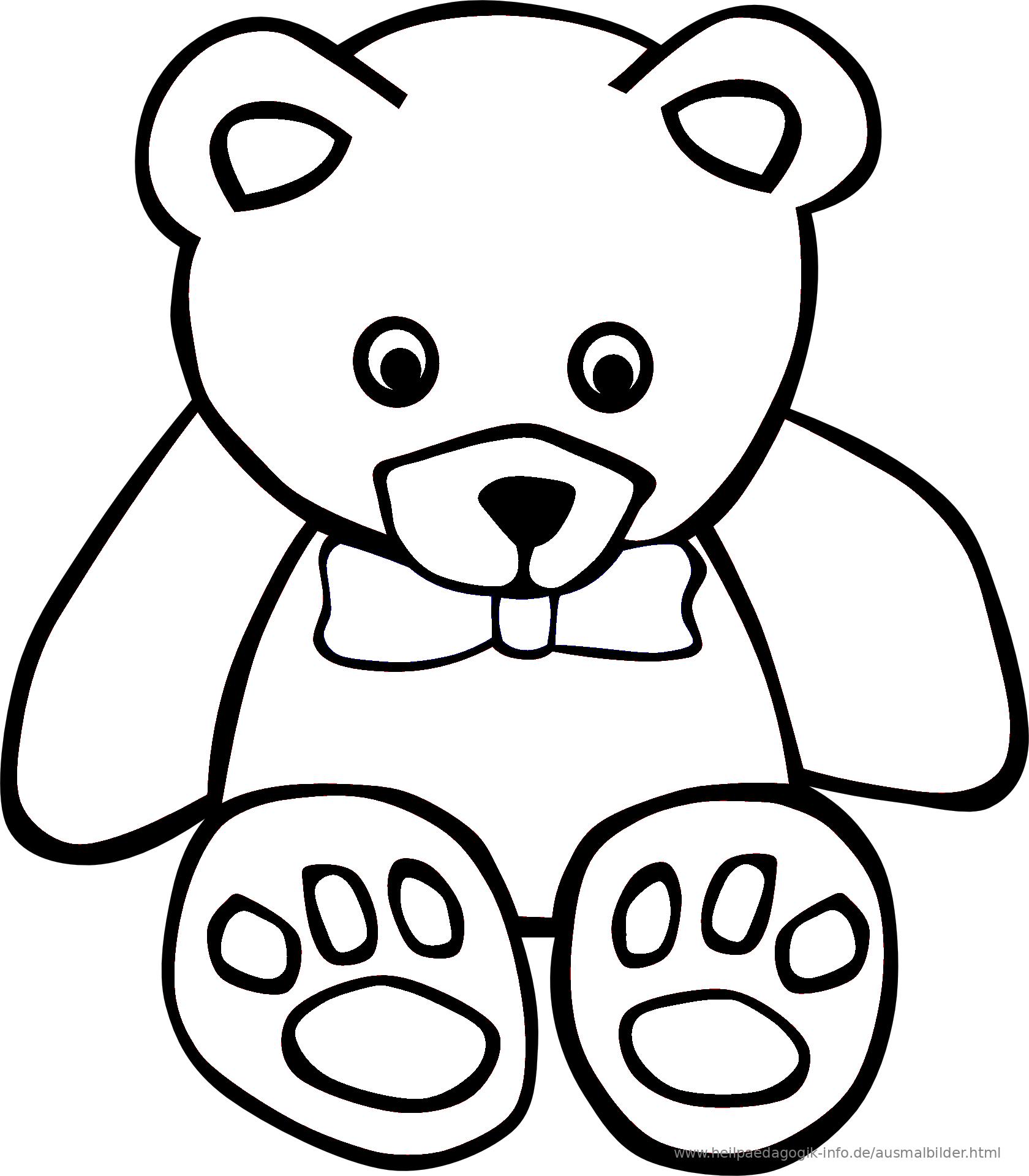 Fein Süße Teddybär Malvorlagen Zeitgenössisch ...